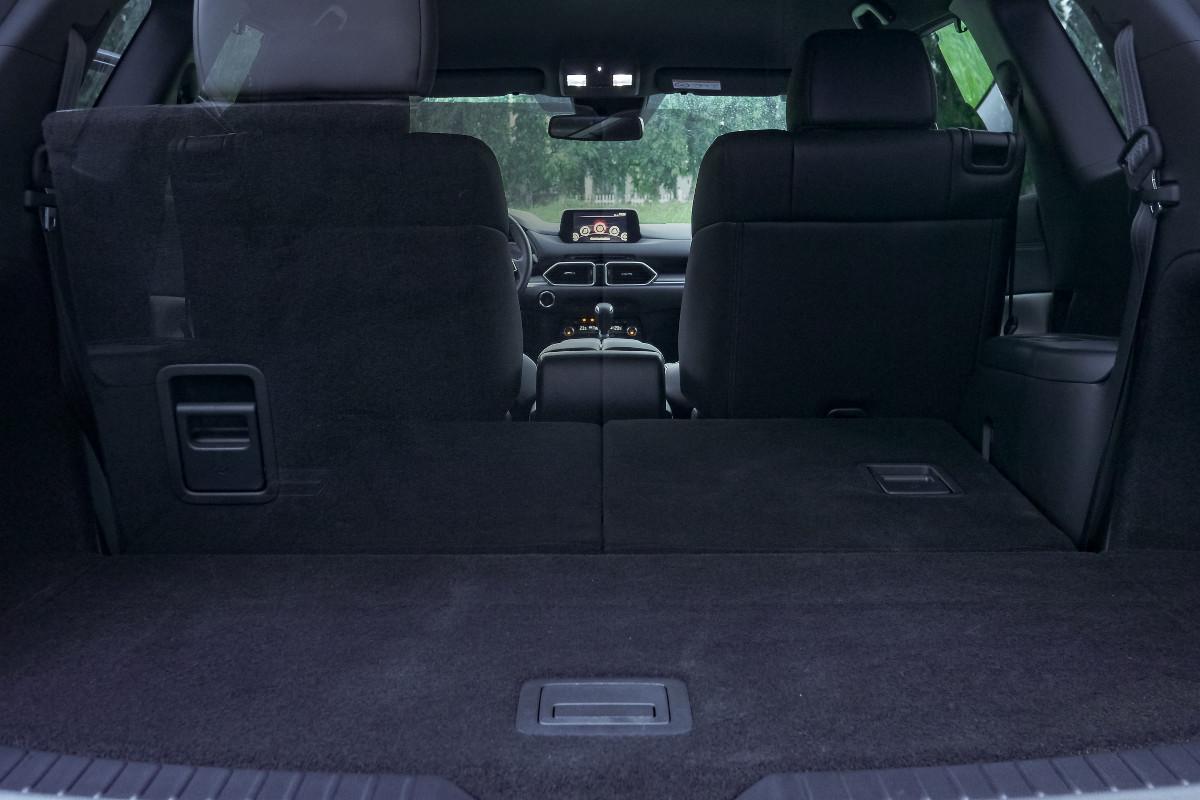 The Mazda CX-8 AWD Exclusive Compartment