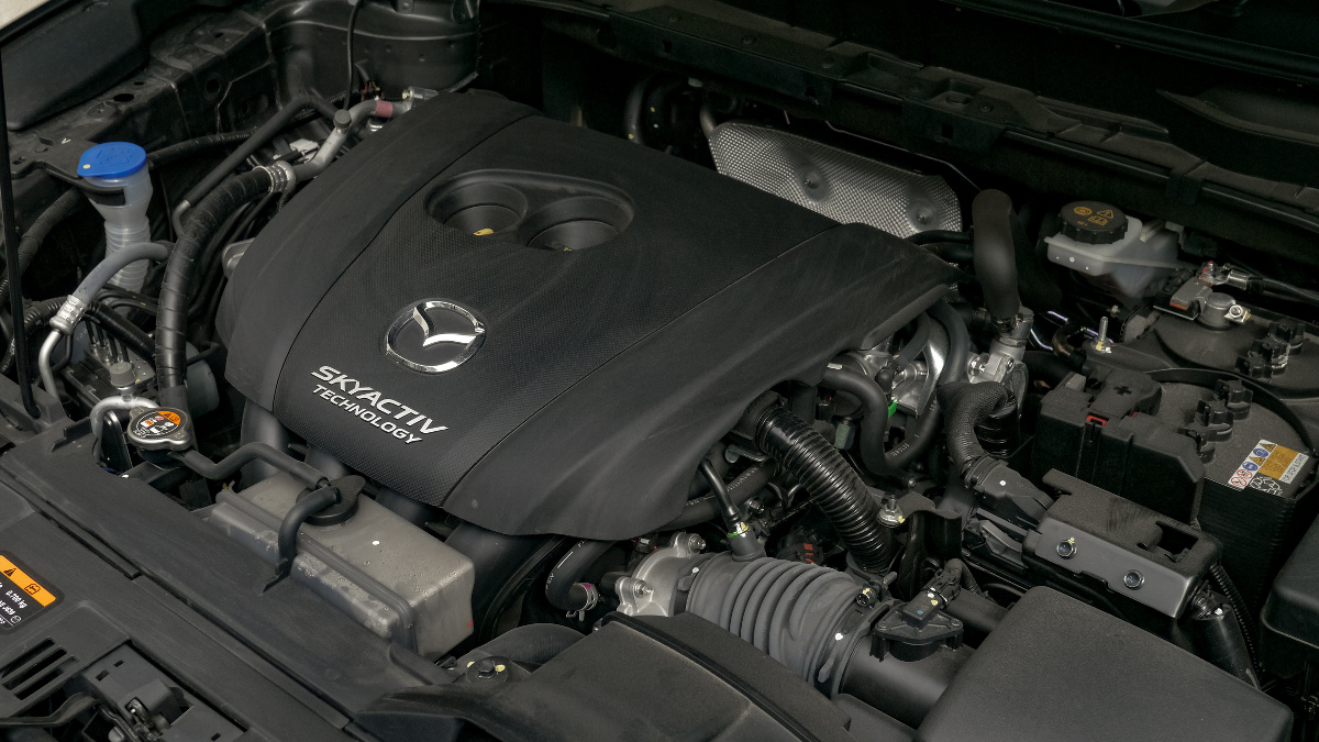 The Mazda CX-8 AWD Exclusive Engine