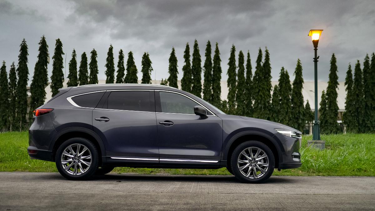 The Mazda CX-8 AWD Exclusive Profile