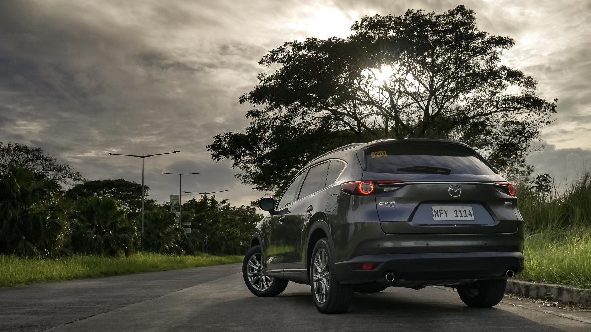 The Mazda CX-8 AWD Exclusive