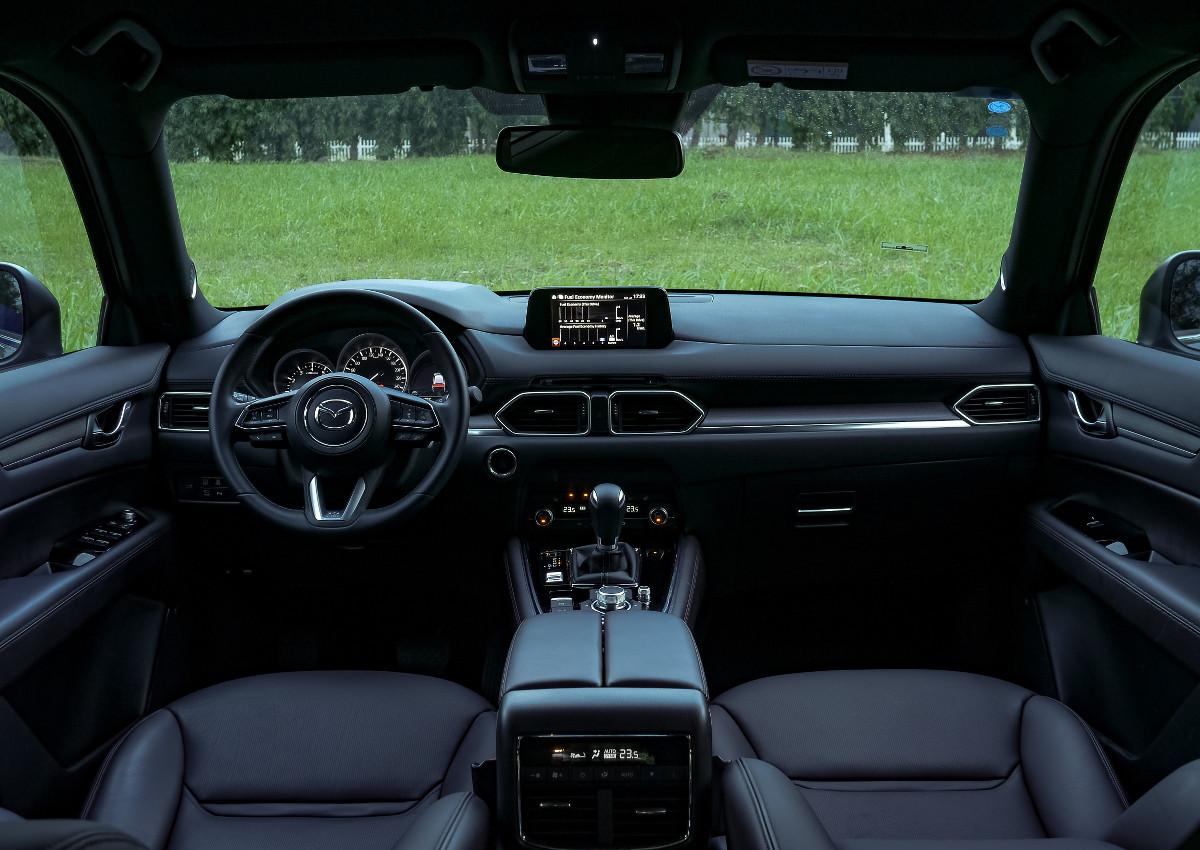 The Mazda CX-8 AWD Exclusive Dashboard
