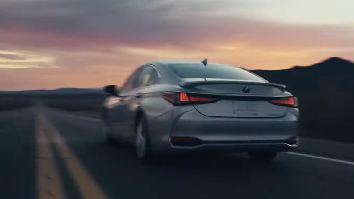 The Lexus ES Teaser