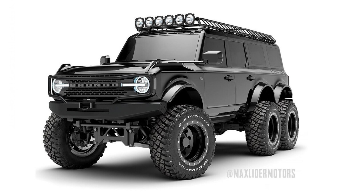 The Maxlider Brothers Customs Ford Bronco 6x6