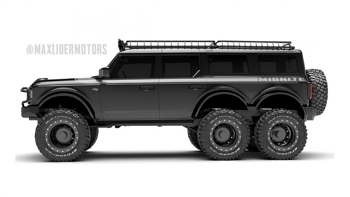 Maxlider Brothers Customs Ford Bronco 6x6 Profile