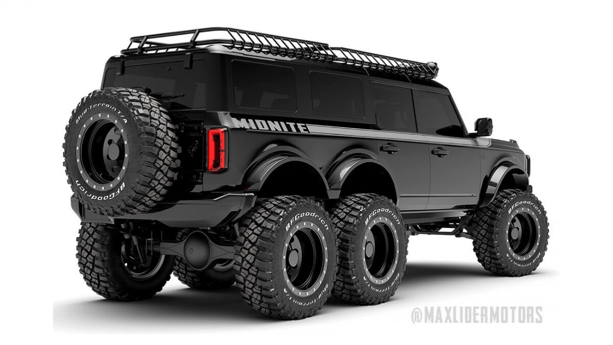 Maxlider Brothers Customs just made a 6x6 Ford Bronc