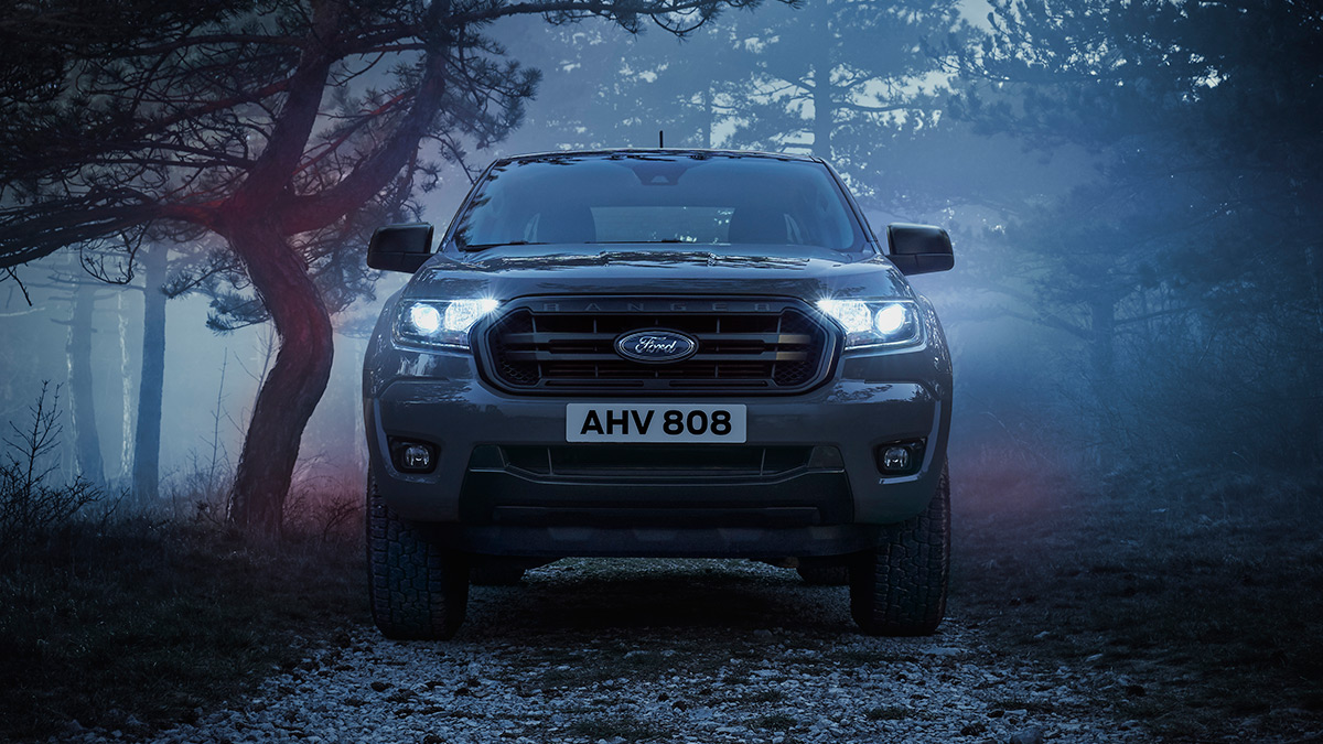The Ford Ranger Wolftrak Front View