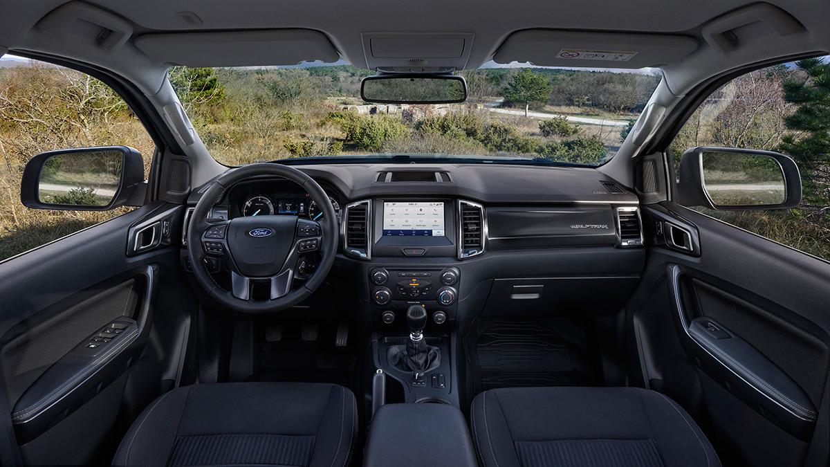The Ford Ranger Wolftrak Dashboard