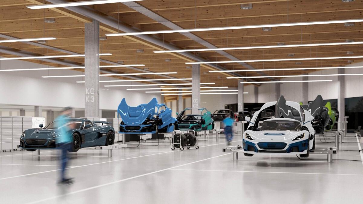 The Rimac Garage and Workshop