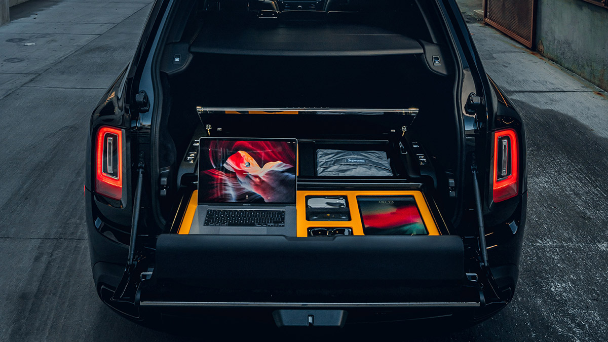 The Rolls-Royce Cullinan Recreation Module