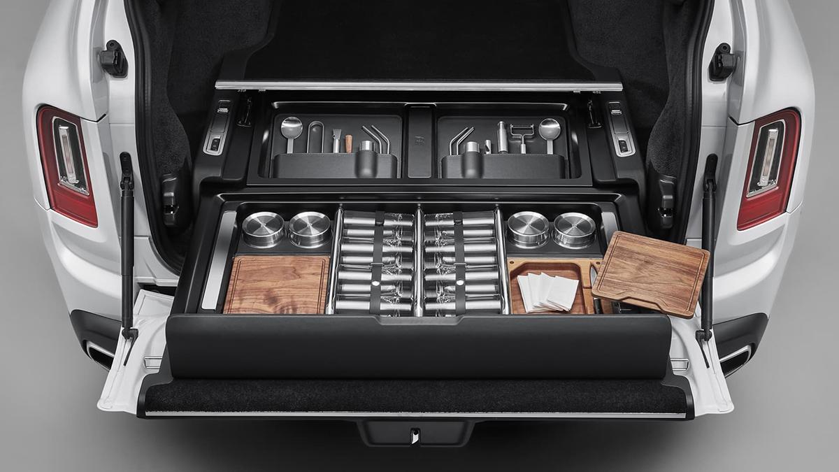 The Rolls-Royce Cullinan Recreation Module - Kitchen Use Case