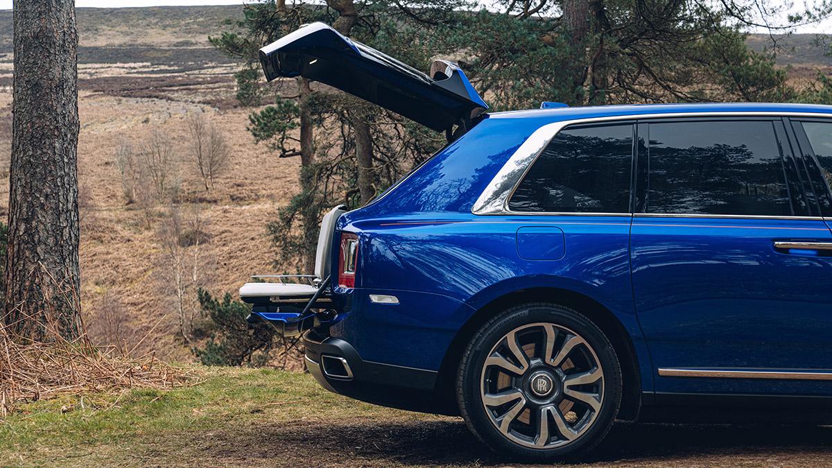 The Rolls-Royce Cullinan Recreation Module - Rear Hatch Opened