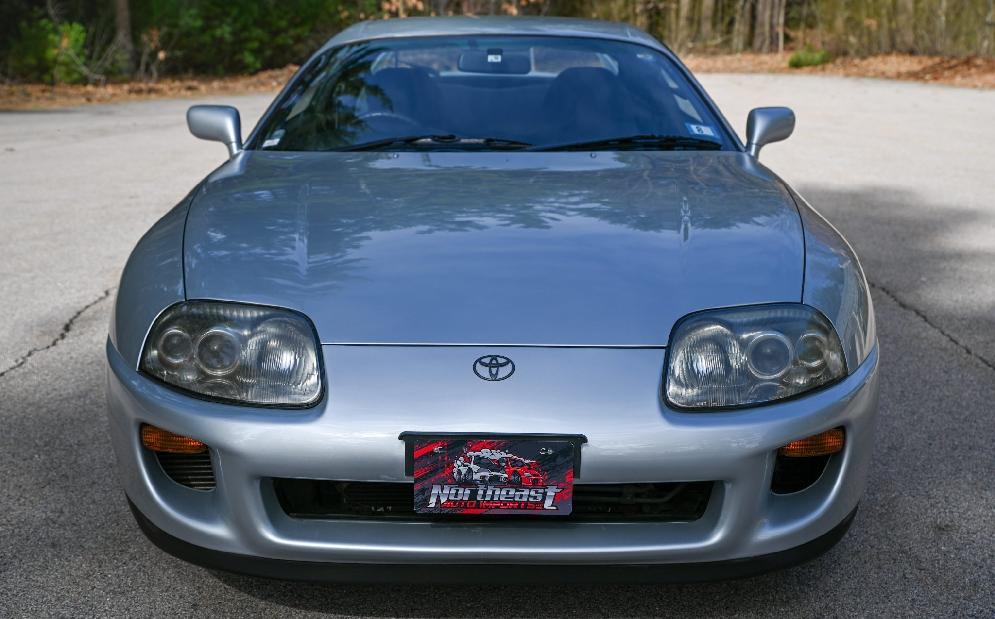 The Toyota RZ Front View Closeup