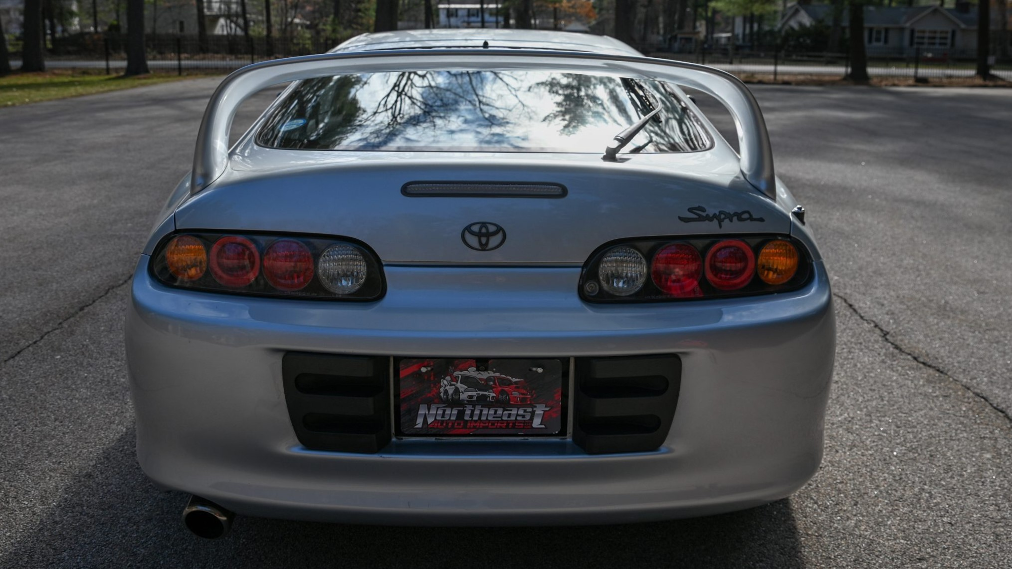 The Toyota RZ Rear view