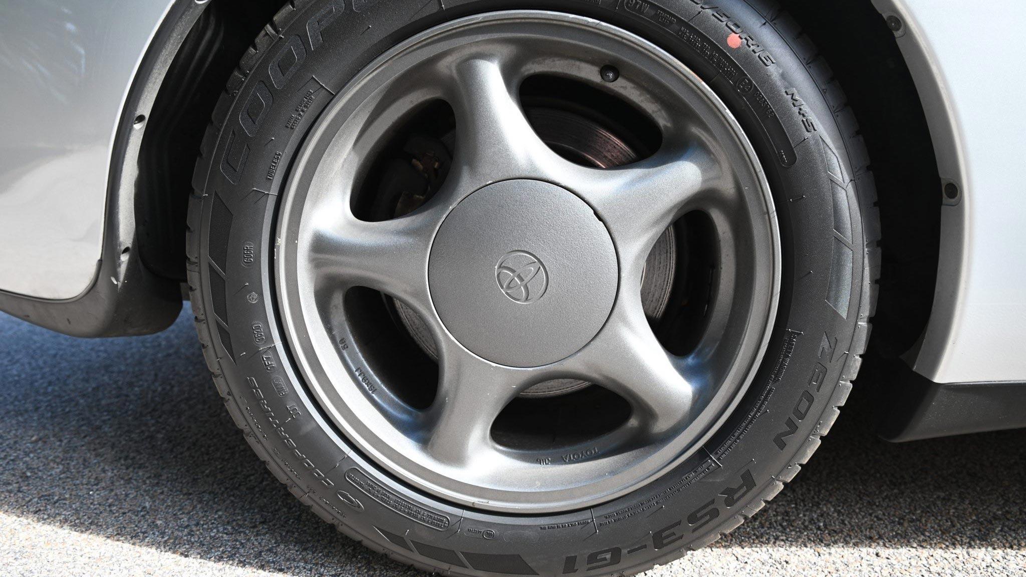 The Toyota RZ Front Wheel
