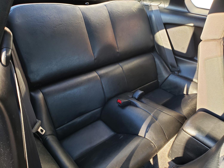 The Toyota RZ Rear Passenger Seats