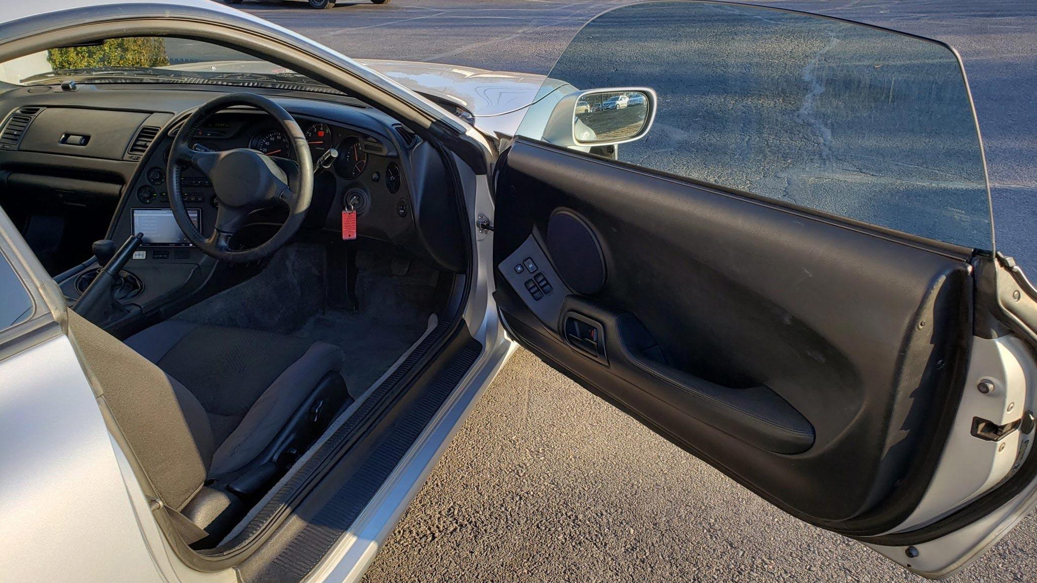 The Toyota RZ  Driver's Side Door
