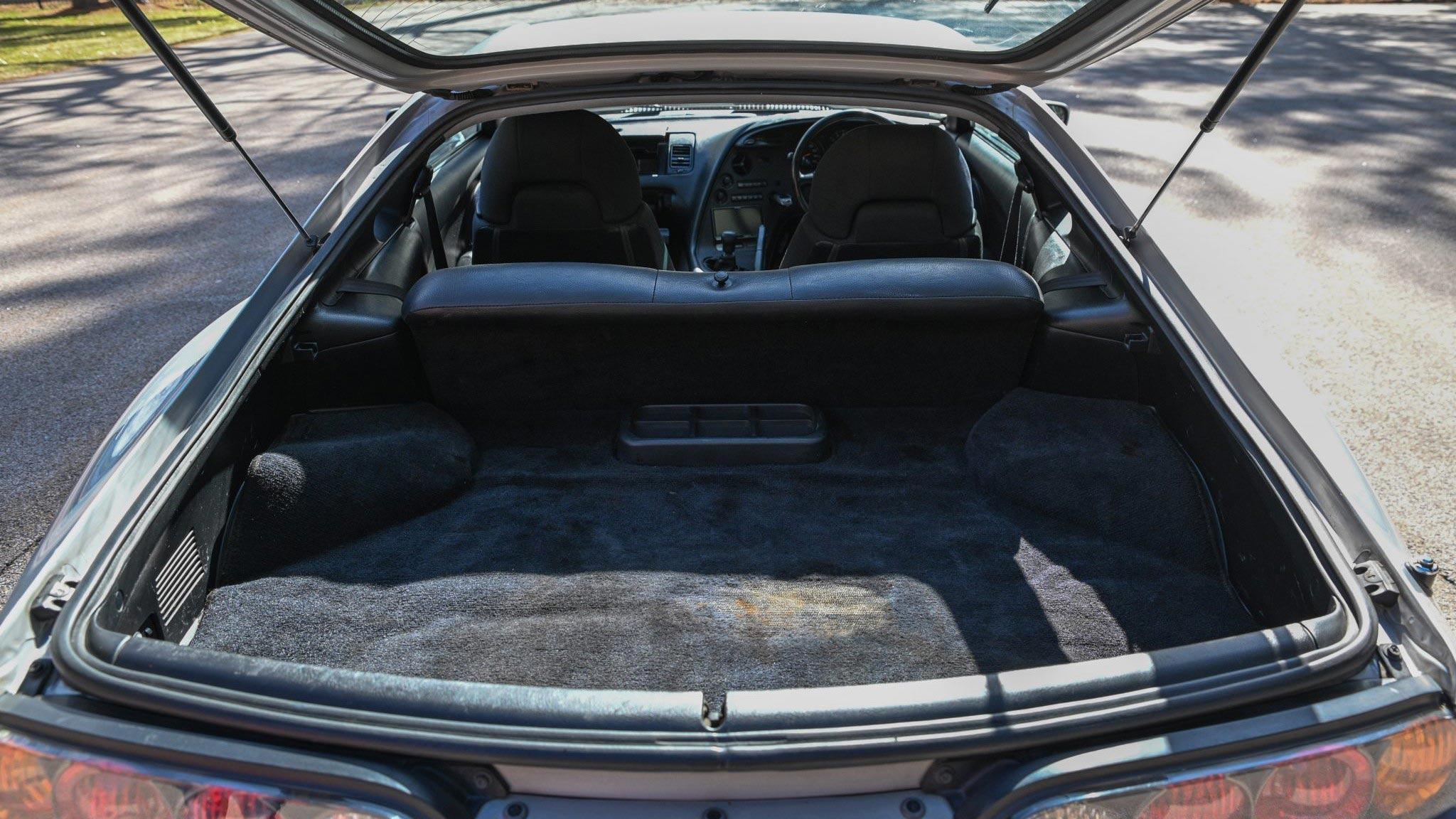 The Toyota RZ Trunk