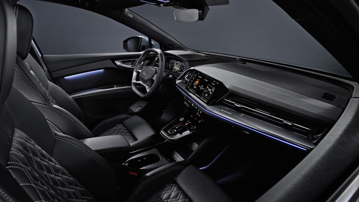 The Audi Q4 e-tron Dashboard