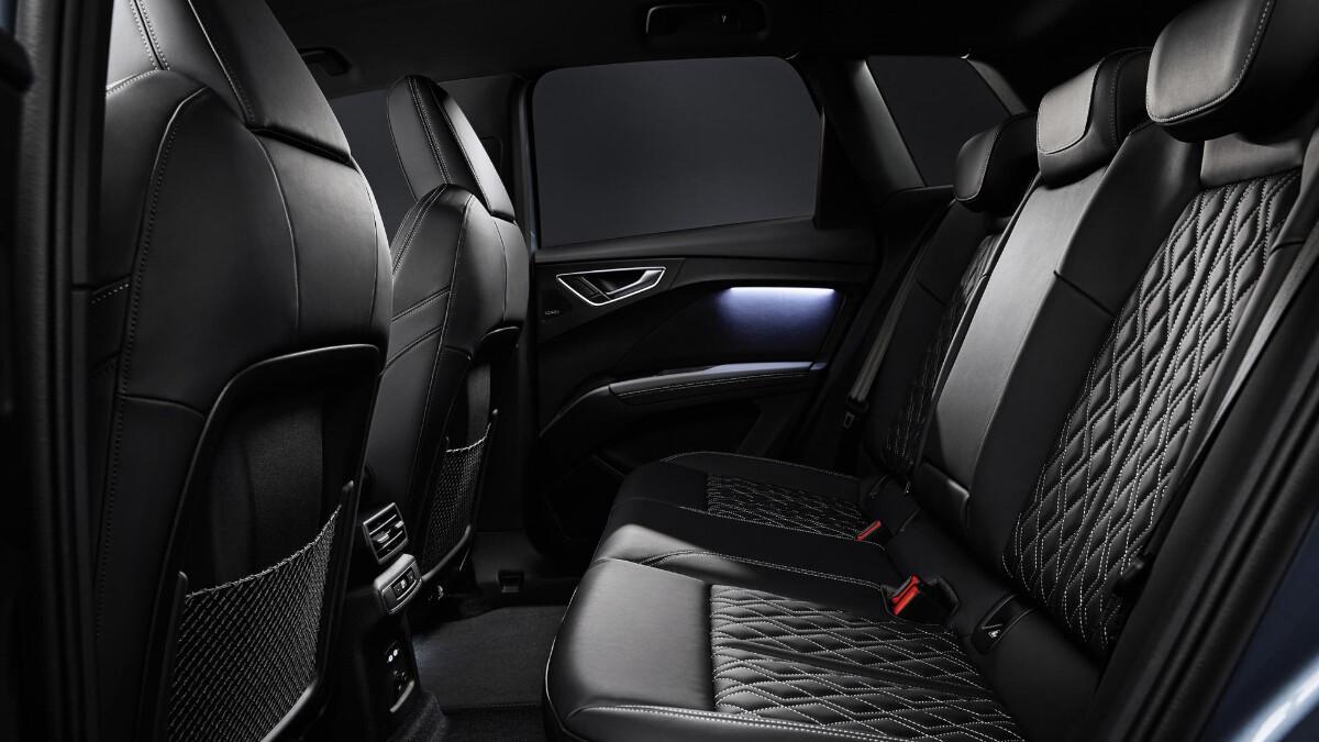 The Audi Q4 e-tron Rear Passenger Seats