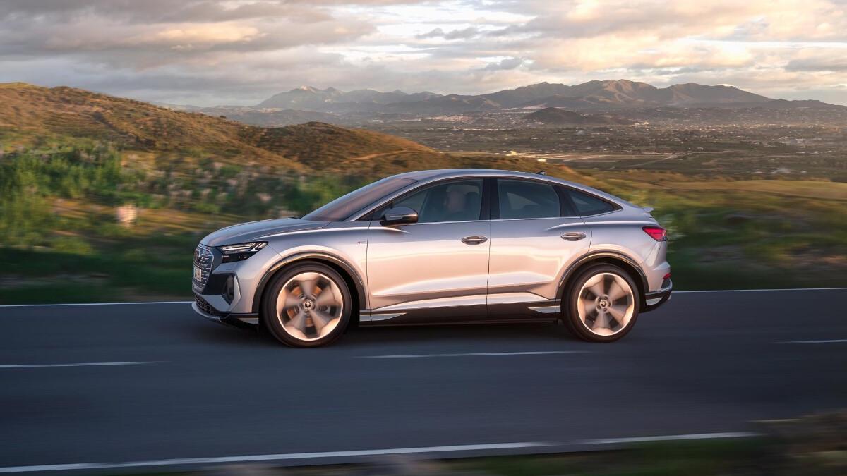 The Audi Q4 e-tron On the Road