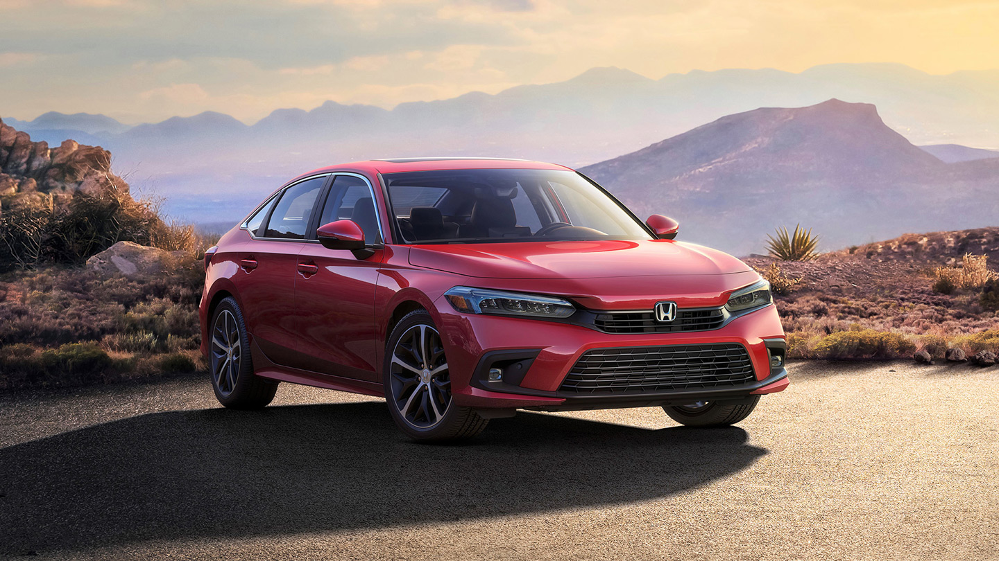 Honda gives us a proper gilmpse of the next-gen Civic