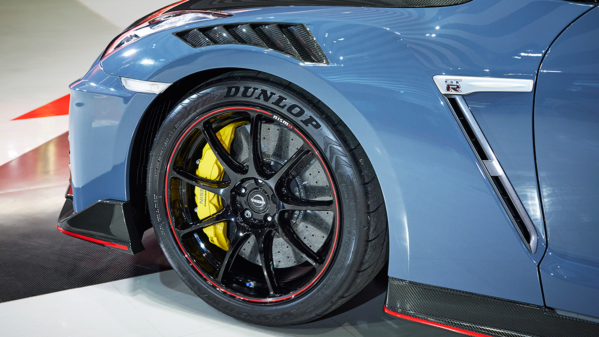 The Nissan GT-R Nismo Front Tire