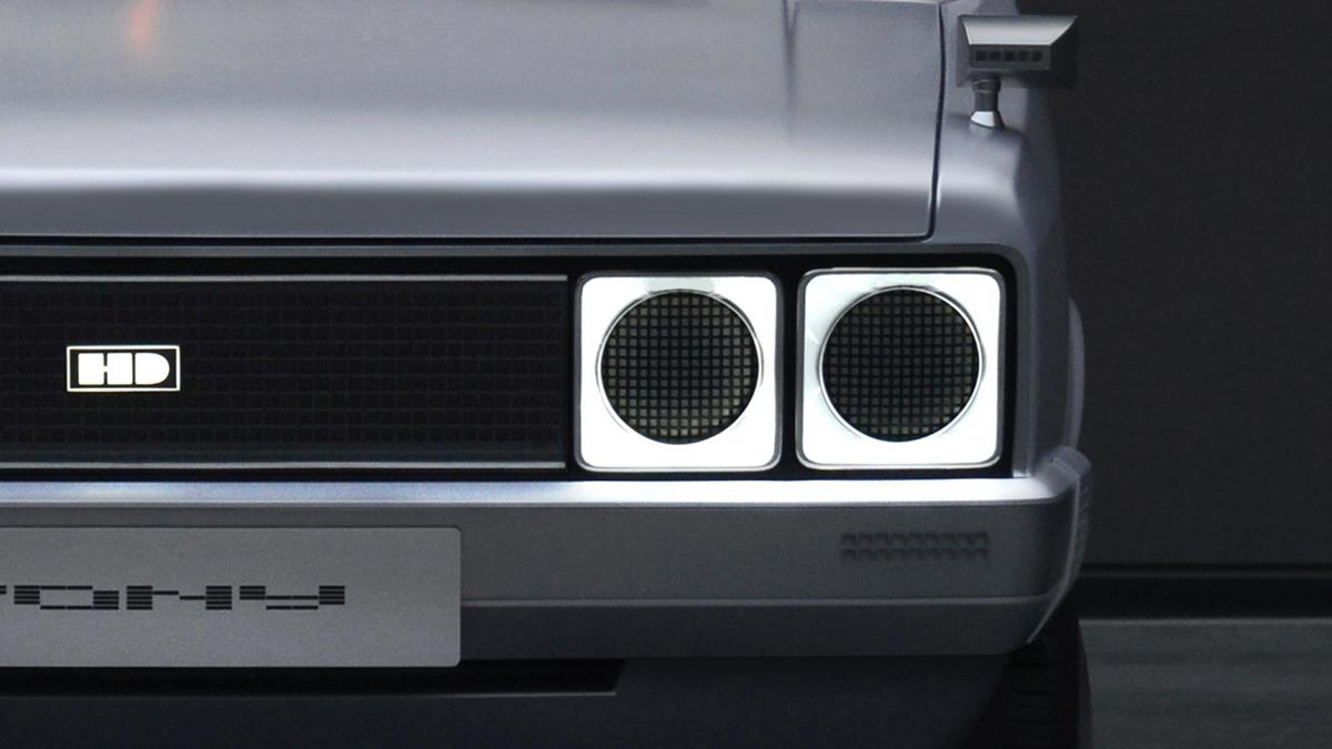 The Hyundai Pony Head Lamp