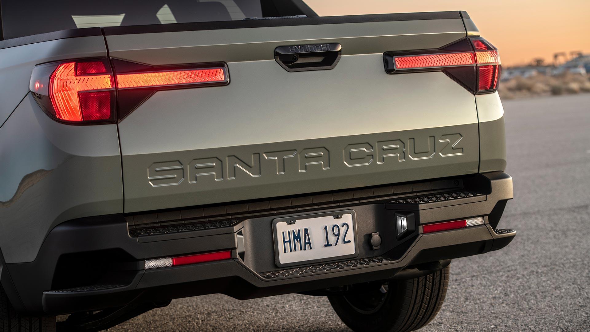 Hyundai Santa Cruz Cargo Bed Hatch