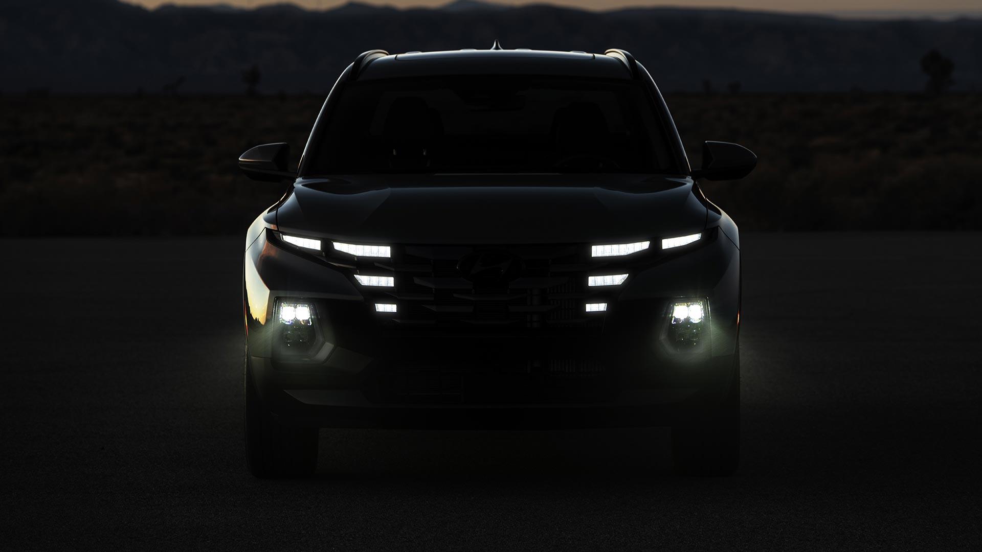 Hyundai Santa Cruz Silhouette