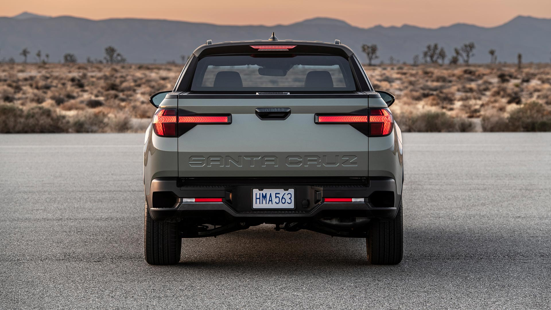 Hyundai Santa Cruz Rear View
