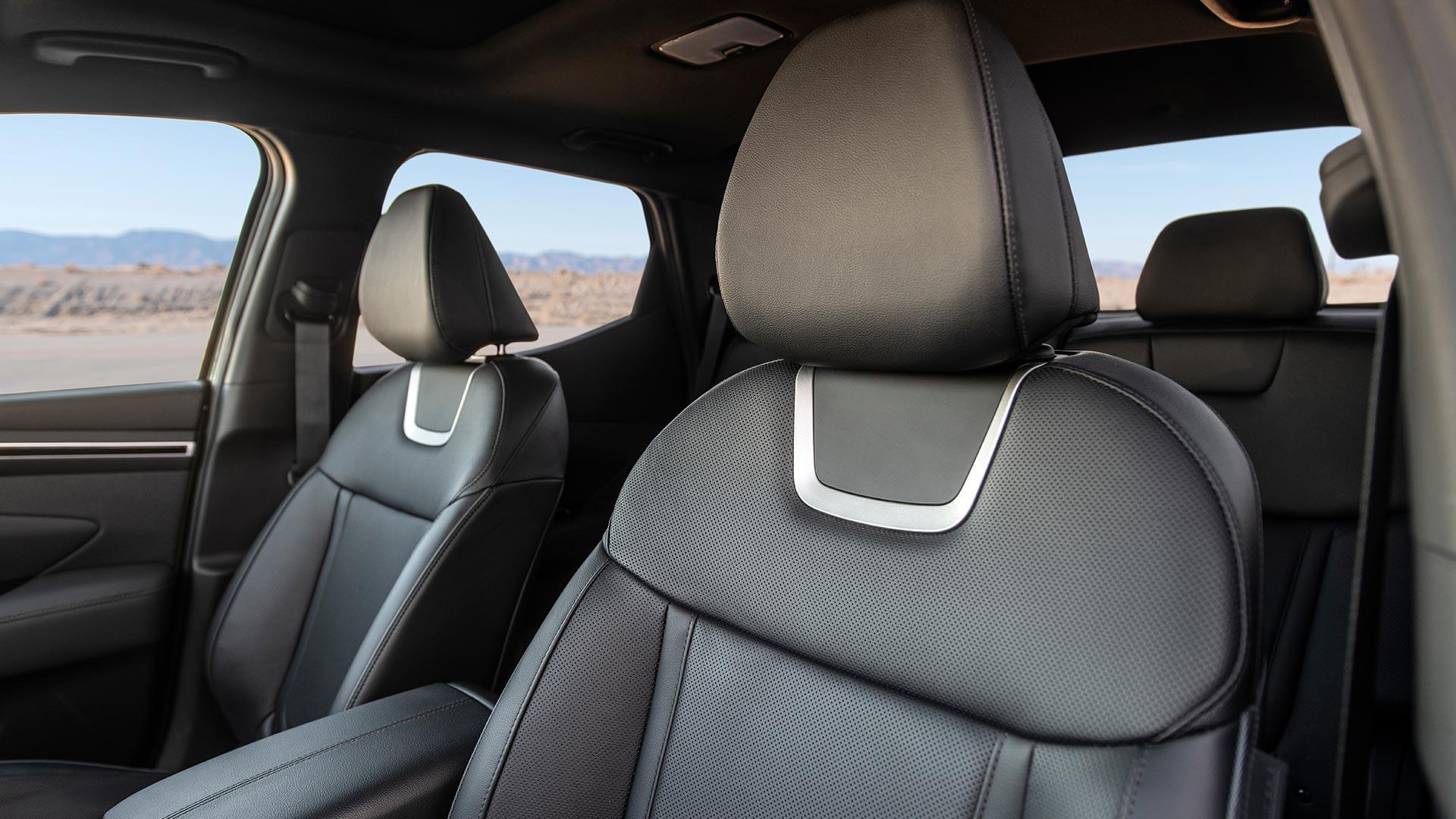 Hyundai Santa Cruz Front Passenger Seats