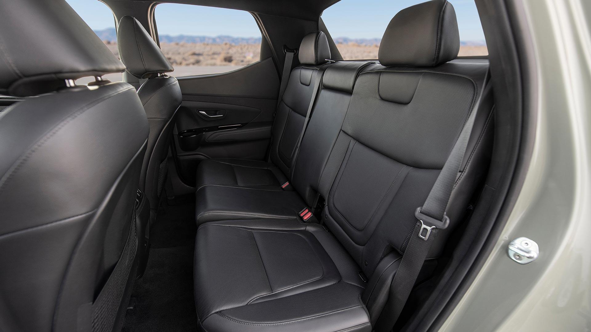 Hyundai Santa Cruz Rear Passenger Seats