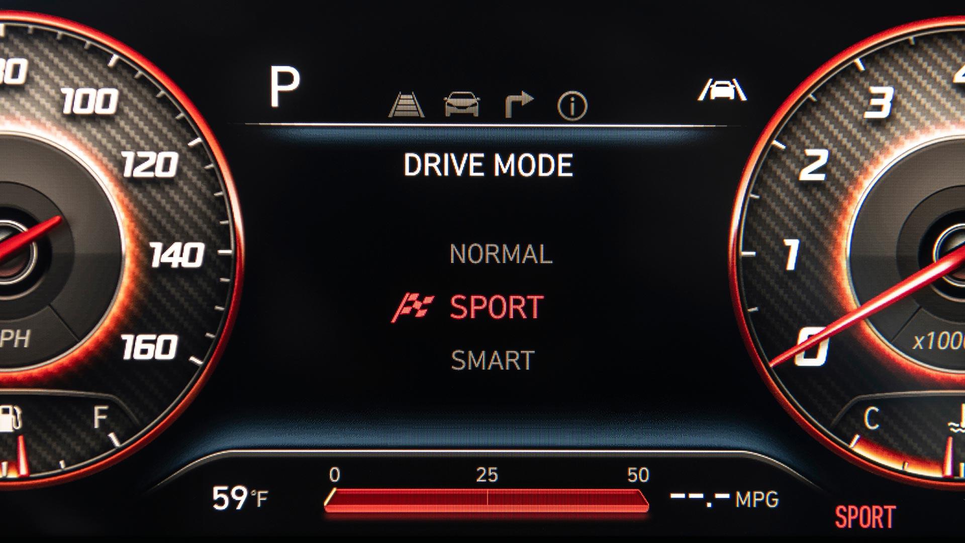 Hyundai Santa Cruz Odometer