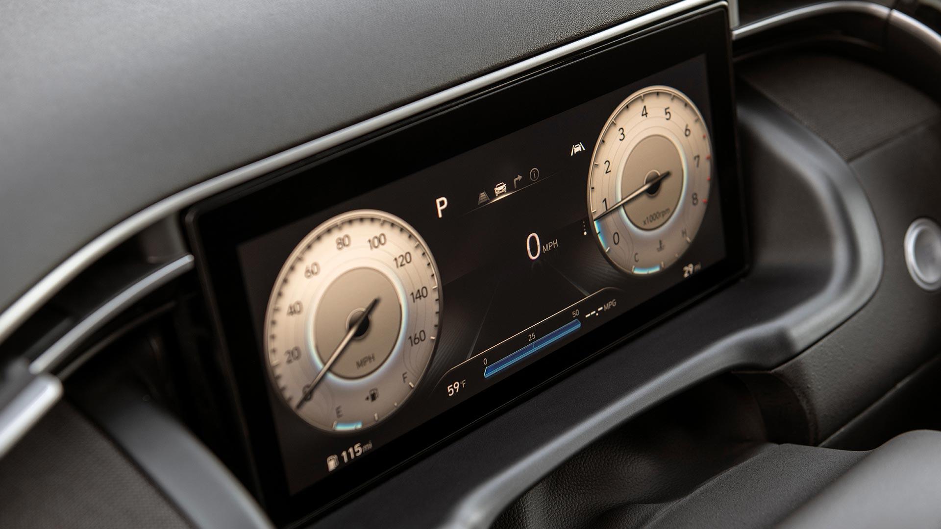 Hyundai Santa Cruz Digital Odometers
