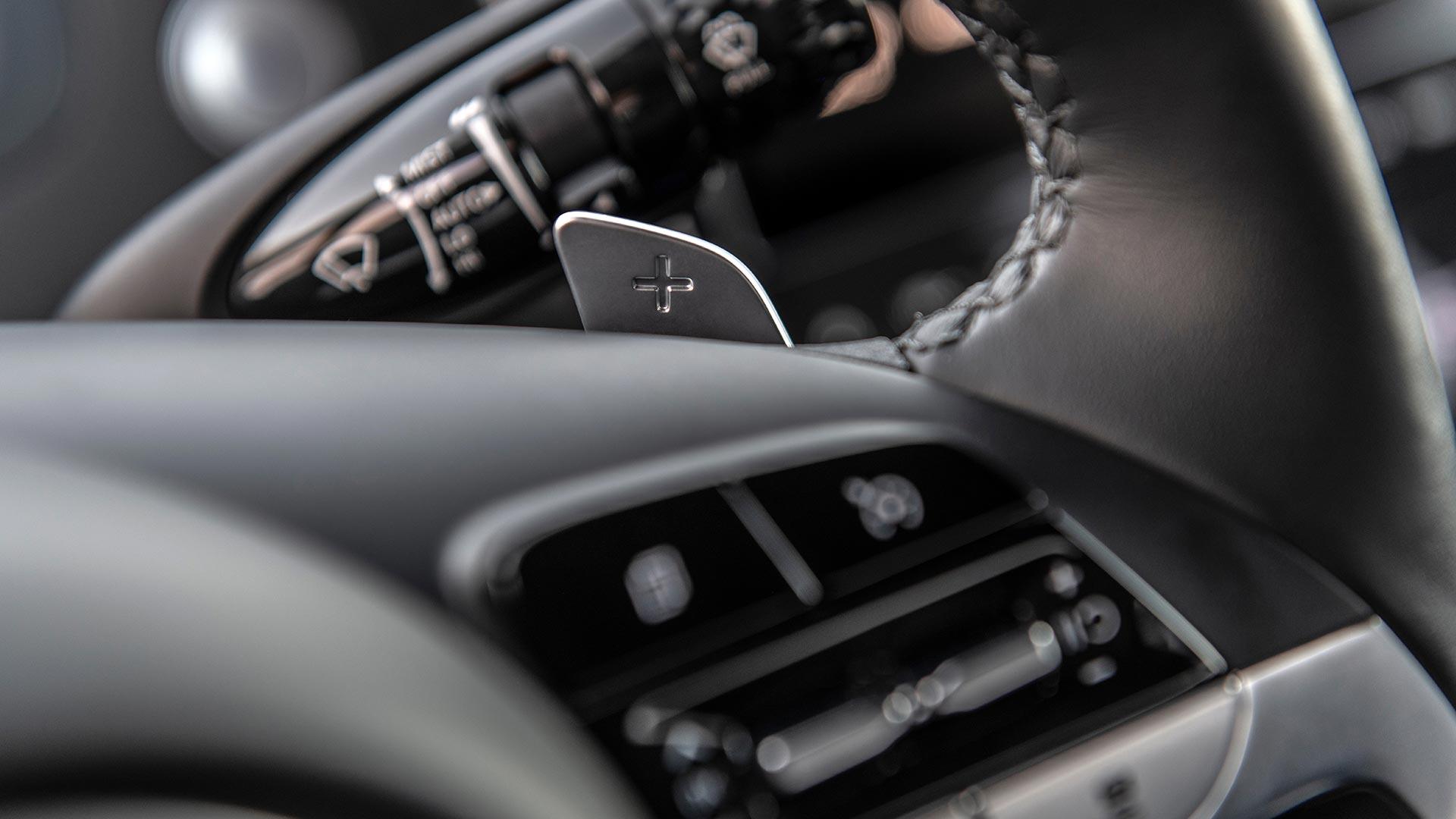 Hyundai Santa Cruz Steering Wheel Details