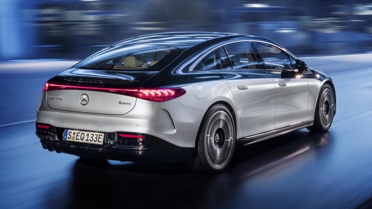 The Mercedes-Benz EQS