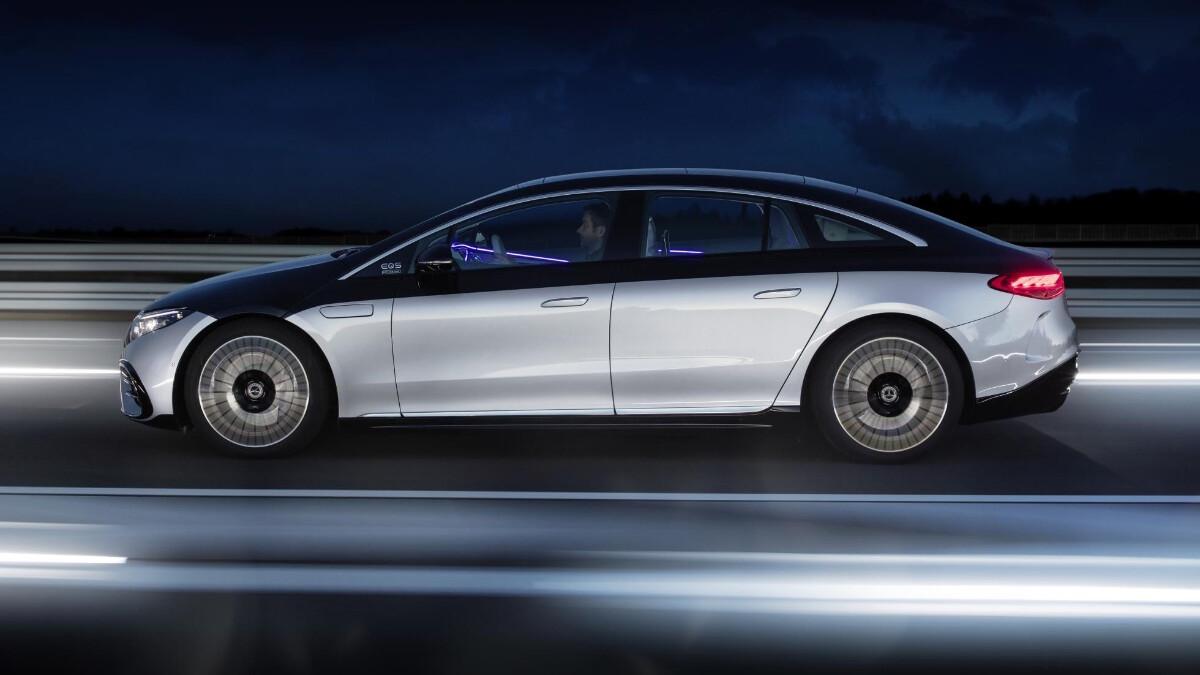 The Mercedes-Benz EQS Profile