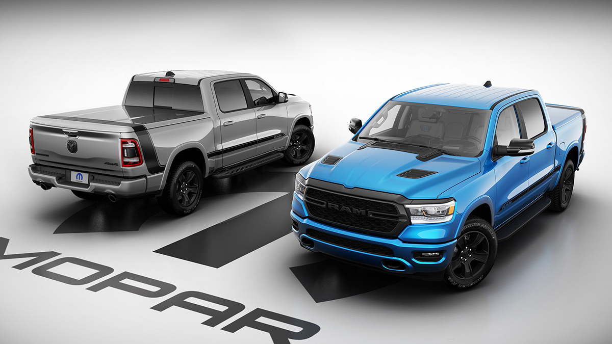 Ram releases new special-edition Mopar-fitted 1500