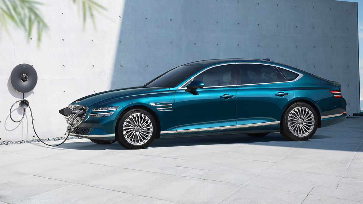 The Genesis Electrified G80 Charging