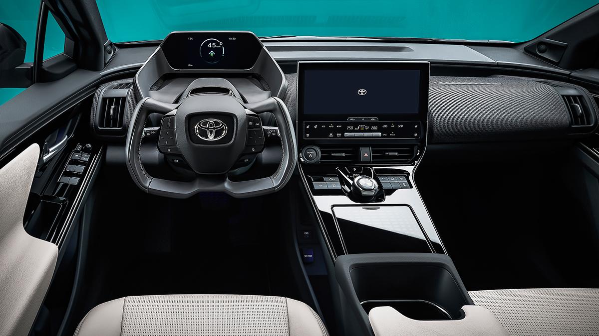 The Toyota bZ4X Dashboard