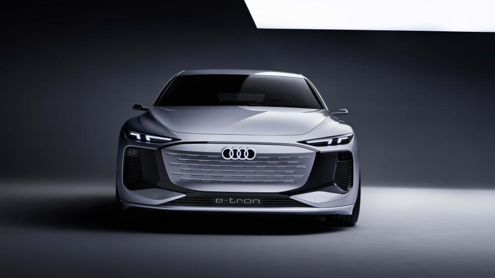 The Audi A6 e-tron concept Front View Alternative Light
