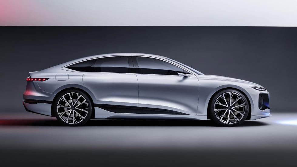 The Audi A6 e-tron concept Profile