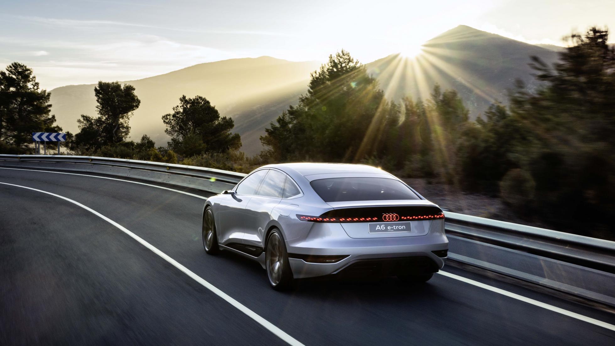 The Audi A6 e-tron concept