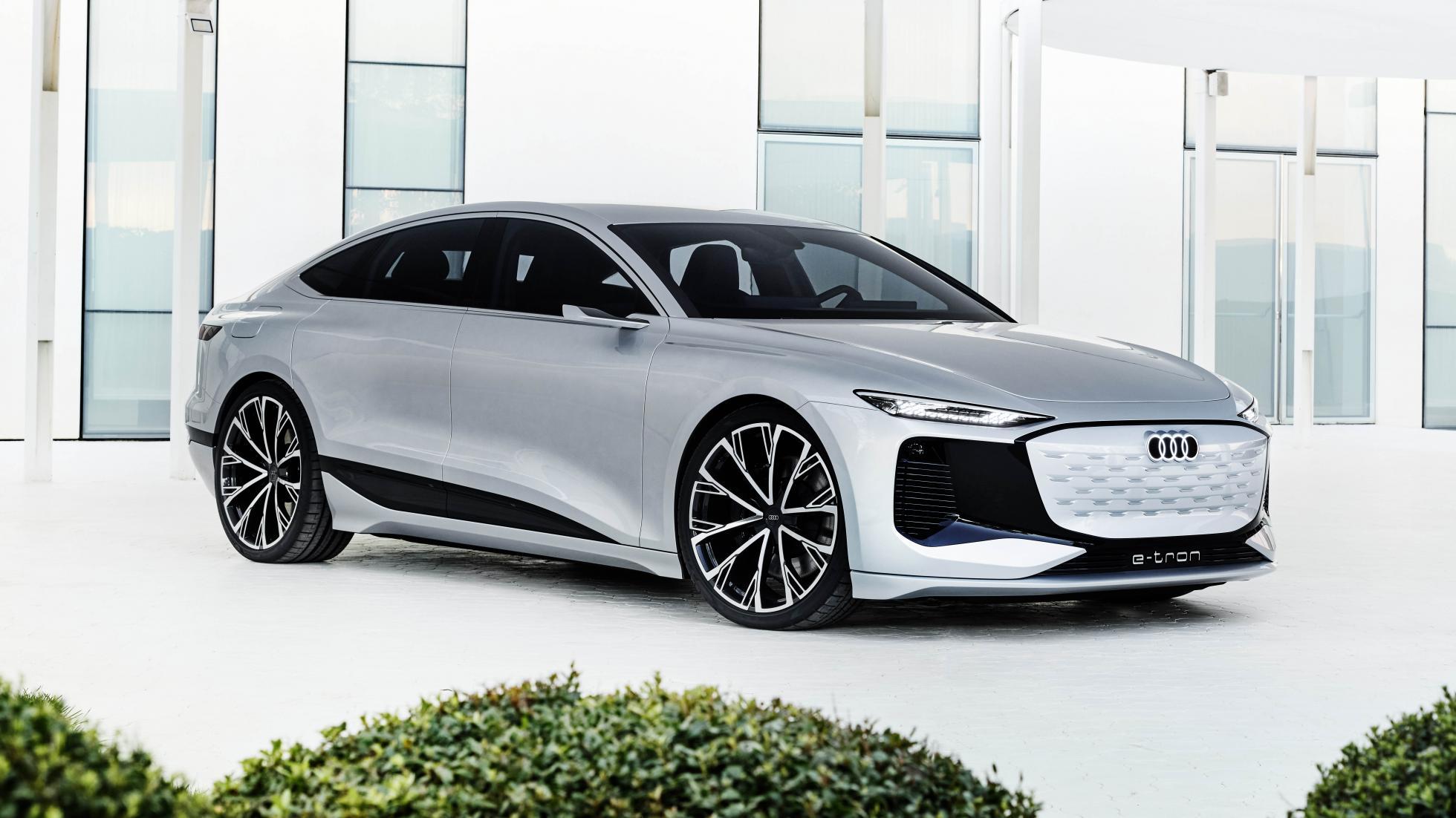 The Audi A6 e-tron concept Showcase