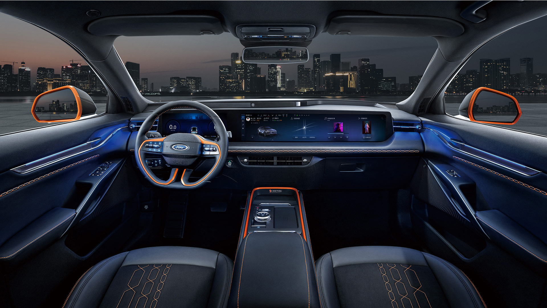 The Ford Evos Dashboard