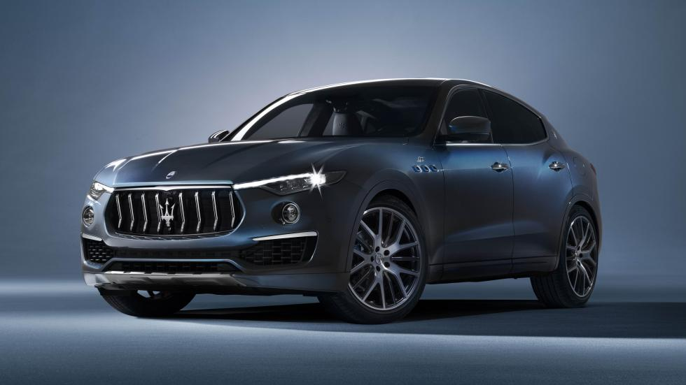 The Maserati Levante Hybrid Angled Front View