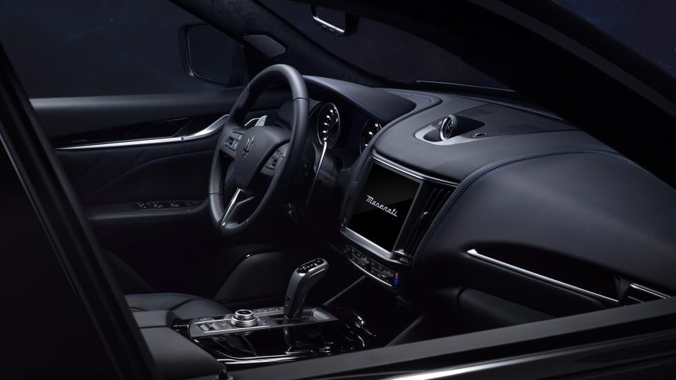 The Maserati Levante Hybrid Dashboard