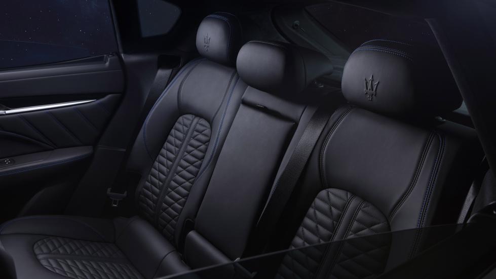 The Maserati Levante Hybrid Rear Passenger Seats