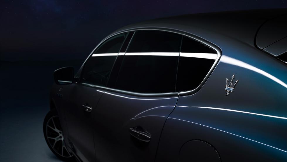 The Maserati Levante Hybrid Profile Close Up