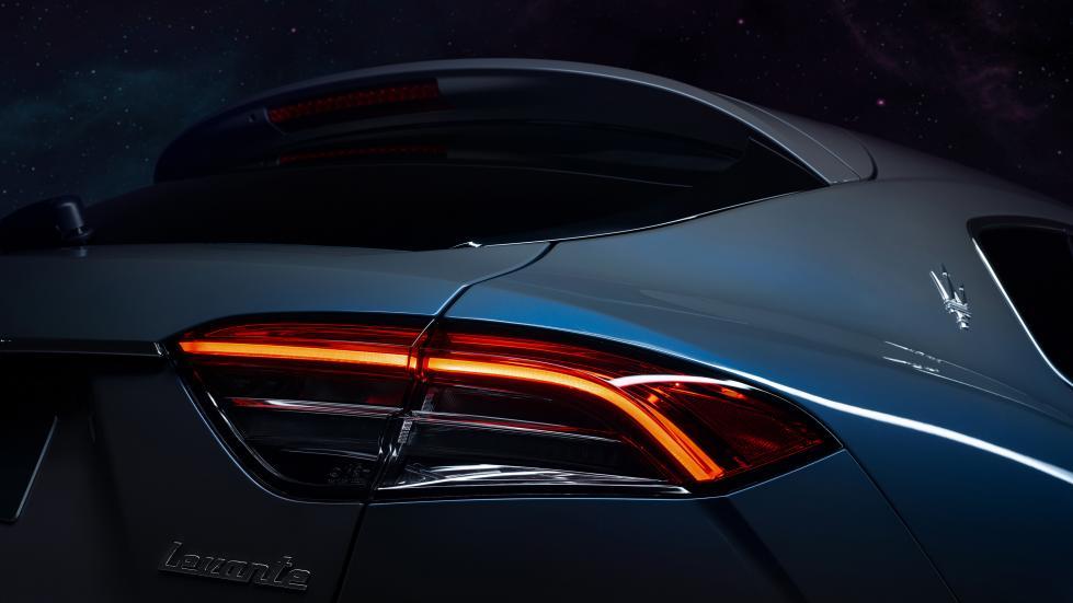 The Maserati Levante Hybrid Tail Light